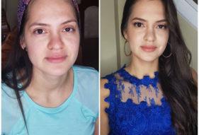 19 - Before and After Makeup