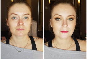23 - Before and After Makeup by Design