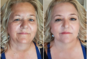 24 - Before and After Makeup by Design