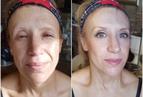 25 - Before and After Makeup by Design
